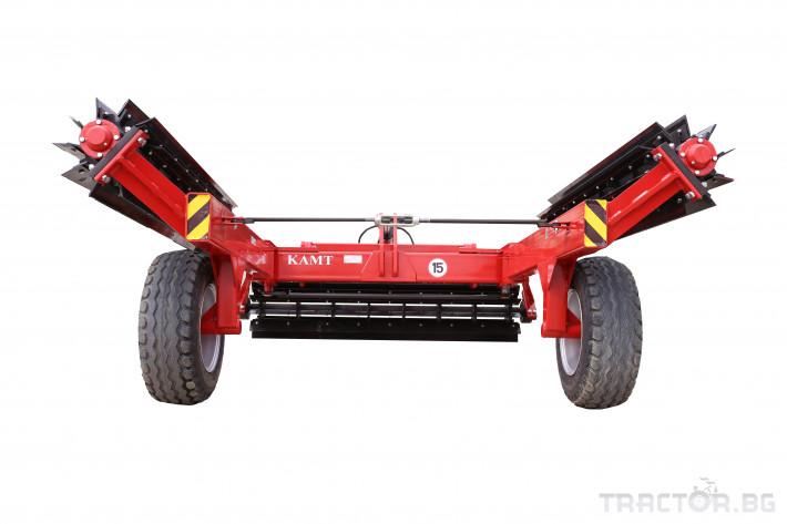 Мулчери Сечка-раздробител КАМТ модел 6,0 2 - Трактор БГ