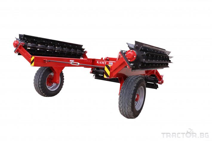 Мулчери Сечка-раздробител КАМТ модел 6,0 3 - Трактор БГ