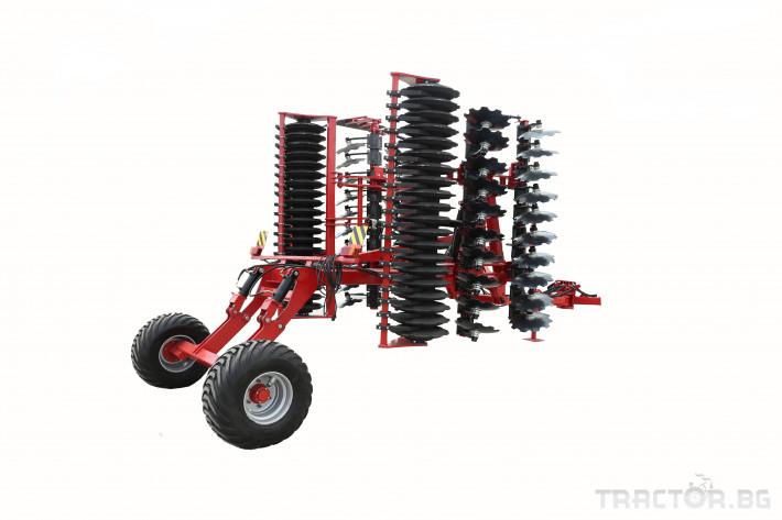 Брани Дискова брана КАМТ БДПН - 5,0 4 - Трактор БГ